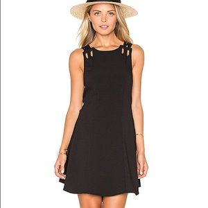 Free People Black Dress with cut out in the back